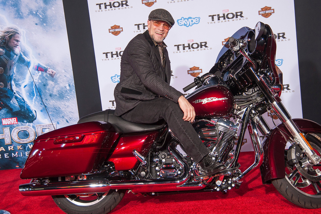 HOLLYWOOD, CA - NOVEMBER 04: Actor Michael Rooker arrives at the premiere of Marvel's 'Thor: The Dark World' at the El Capitan Theatre on Monday, November 4, 2013 in Hollywood, California. (Photo by Tom Sorensen/Moovieboy Pictures)