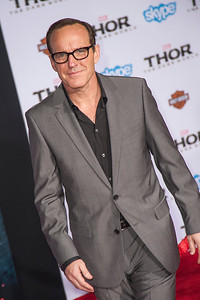 HOLLYWOOD, CA - NOVEMBER 04: Actor Clark Gregg arrives at the premiere of Marvel's 'Thor: The Dark World' at the El Capitan Theatre on Monday, November 4, 2013 in Hollywood, California. (Photo by Tom Sorensen/Moovieboy Pictures)
