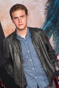 HOLLYWOOD, CA - NOVEMBER 04: Actor Iain De Caestecker arrives at the premiere of Marvel's 'Thor: The Dark World' at the El Capitan Theatre on Monday, November 4, 2013 in Hollywood, California. (Photo by Tom Sorensen/Moovieboy Pictures)