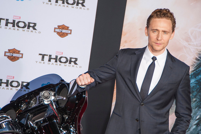 HOLLYWOOD, CA - NOVEMBER 04: Actor Tom Hiddleston arrives at the premiere of Marvel's 'Thor: The Dark World' at the El Capitan Theatre on Monday, November 4, 2013 in Hollywood, California. (Photo by Tom Sorensen/Moovieboy Pictures)