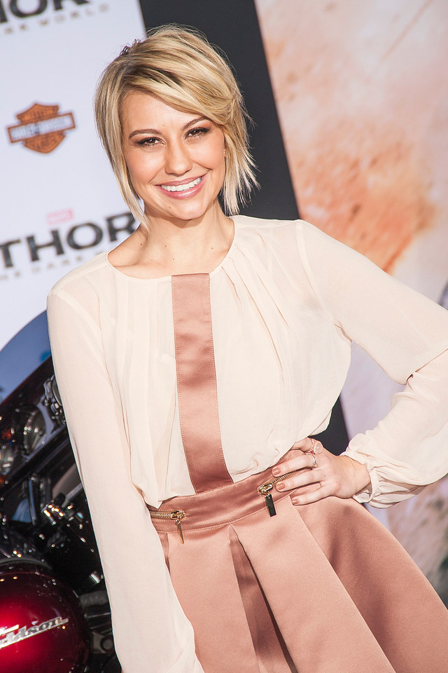 HOLLYWOOD, CA - NOVEMBER 04: Actress Chelsea Kane arrives at the premiere of Marvel's 'Thor: The Dark World' at the El Capitan Theatre on Monday, November 4, 2013 in Hollywood, California. (Photo by Tom Sorensen/Moovieboy Pictures)