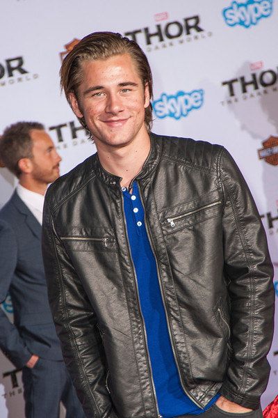 HOLLYWOOD, CA - NOVEMBER 04: Actor Luke Benward arrives at the premiere of Marvel's 'Thor: The Dark World' at the El Capitan Theatre on Monday, November 4, 2013 in Hollywood, California. (Photo by Tom Sorensen/Moovieboy Pictures)
