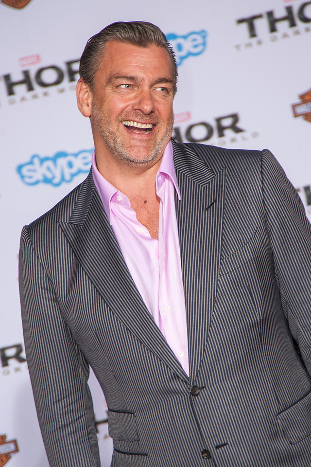 HOLLYWOOD, CA - NOVEMBER 04: Actor Ray Stevenson arrives at the premiere of Marvel's 'Thor: The Dark World' at the El Capitan Theatre on Monday, November 4, 2013 in Hollywood, California. (Photo by Tom Sorensen/Moovieboy Pictures)