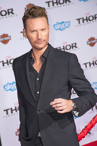 HOLLYWOOD, CA - NOVEMBER 04: Composer Brian Tyler arrives at the premiere of Marvel's 'Thor: The Dark World' at the El Capitan Theatre on Monday, November 4, 2013 in Hollywood, California. (Photo by Tom Sorensen/Moovieboy Pictures)