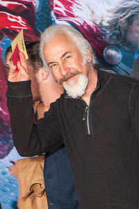 HOLLYWOOD, CA - NOVEMBER 04: Rick Baker arrives at the premiere of Marvel's 'Thor: The Dark World' at the El Capitan Theatre on Monday, November 4, 2013 in Hollywood, California. (Photo by Tom Sorensen/Moovieboy Pictures)