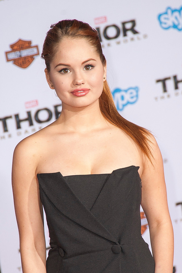 HOLLYWOOD, CA - NOVEMBER 04: Actress Debby Ryan arrives at the premiere of Marvel's 'Thor: The Dark World' at the El Capitan Theatre on Monday, November 4, 2013 in Hollywood, California. (Photo by Tom Sorensen/Moovieboy Pictures)