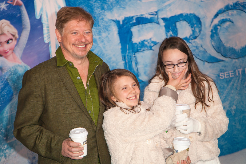 HOLLYWOOD, CA - NOVEMBER 19: Actor Dave Foley and guests arrive at the premiere of Walt Disney Animation Studios' 'Frozen'at the El Capitan Theatre on Tuesday, November 19, 2013 in Hollywood, California. (Photo by Tom Sorensen/Moovieboy Pictures)