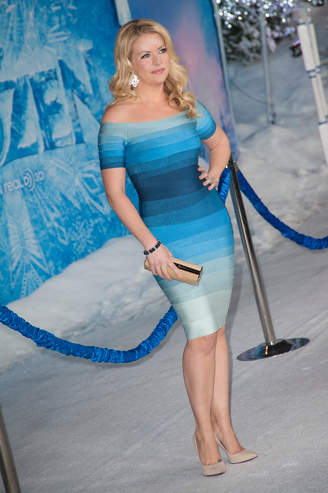 HOLLYWOOD, CA - NOVEMBER 19: Actress Melissa Joan Hart arrives at the premiere of Walt Disney Animation Studios' 'Frozen'at the El Capitan Theatre on Tuesday, November 19, 2013 in Hollywood, California. (Photo by Tom Sorensen/Moovieboy Pictures)
