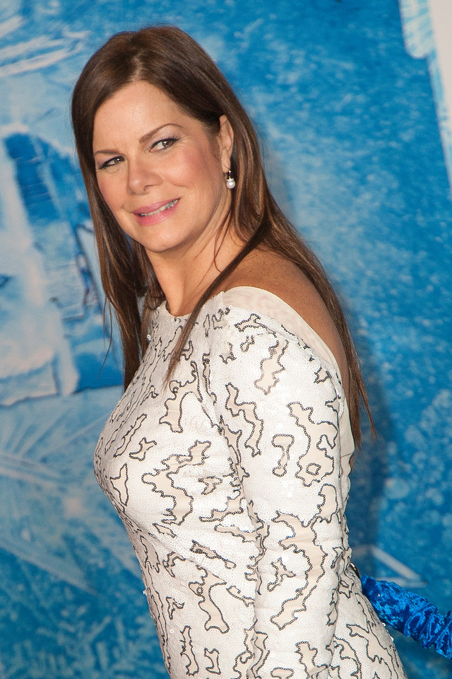 HOLLYWOOD, CA - NOVEMBER 19: Actress Marcia Gay Harden arrives at the premiere of Walt Disney Animation Studios' 'Frozen'at the El Capitan Theatre on Tuesday, November 19, 2013 in Hollywood, California. (Photo by Tom Sorensen/Moovieboy Pictures)