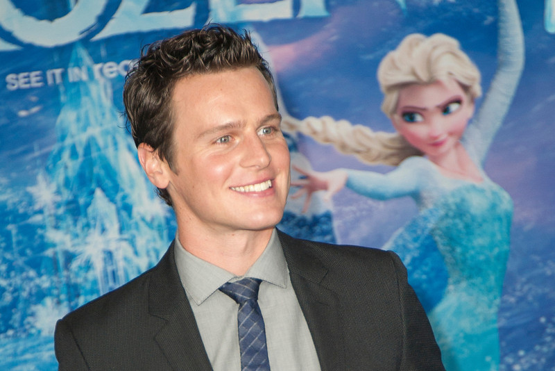 HOLLYWOOD, CA - NOVEMBER 19: Actor Jonathan Groff arrives at the premiere of Walt Disney Animation Studios' 'Frozen'at the El Capitan Theatre on Tuesday, November 19, 2013 in Hollywood, California. (Photo by Tom Sorensen/Moovieboy Pictures)