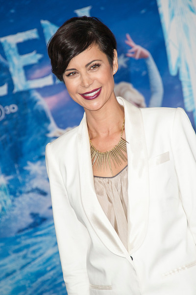 HOLLYWOOD, CA - NOVEMBER 19: Actress Catherine Bell arrives at the premiere of Walt Disney Animation Studios' 'Frozen'at the El Capitan Theatre on Tuesday, November 19, 2013 in Hollywood, California. (Photo by Tom Sorensen/Moovieboy Pictures)