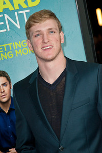 LOS ANGELES, CA - JANUARY 27: Actor Logan Paul arrives at the premiere of Focus Features' 'That Awkward Moment' at Regal Cinemas L.A. Live on January 27, 2014 in Los Angeles, California. (Photo by Tom Sorensen/Moovieboy Pictures)