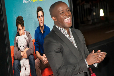 LOS ANGELES, CA - JANUARY 27: Actor Elijah Kelley arrives at the premiere of Focus Features' 'That Awkward Moment' at Regal Cinemas L.A. Live on January 27, 2014 in Los Angeles, California. (Photo by Tom Sorensen/Moovieboy Pictures)