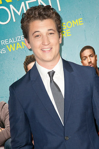 LOS ANGELES, CA - JANUARY 27: Actor Miles Teller arrives at the premiere of Focus Features' 'That Awkward Moment' at Regal Cinemas L.A. Live on January 27, 2014 in Los Angeles, California. (Photo by Tom Sorensen/Moovieboy Pictures)