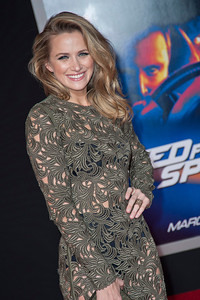 HOLLYWOOD, CA - MARCH 06: Actress Shantel VanSanten arrives at the premiere of DreamWorks Pictures' 'Need For Speed' at TCL Chinese Theatre on March 6, 2014 in Hollywood, California. (Photo by Tom Sorensen/Moovieboy Pictures)