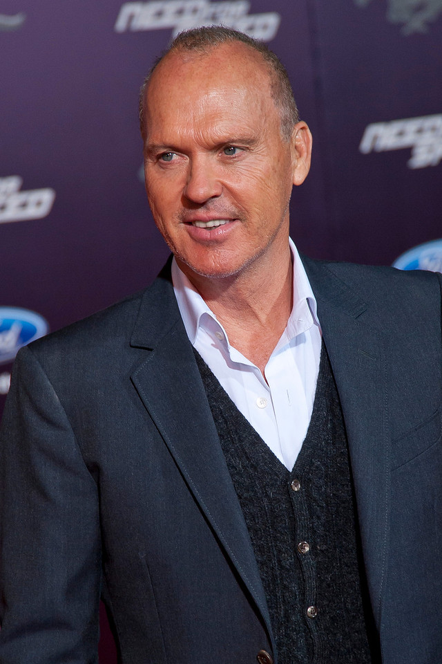 HOLLYWOOD, CA - MARCH 06: Actor Michael Keaton arrives at the premiere of DreamWorks Pictures' 'Need For Speed' at TCL Chinese Theatre on March 6, 2014 in Hollywood, California. (Photo by Tom Sorensen/Moovieboy Pictures)