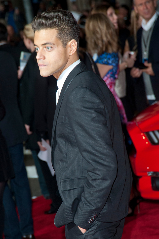HOLLYWOOD, CA - MARCH 06: Actor Rami Malek arrives at the premiere of DreamWorks Pictures' 'Need For Speed' at TCL Chinese Theatre on March 6, 2014 in Hollywood, California. (Photo by Tom Sorensen/Moovieboy Pictures)