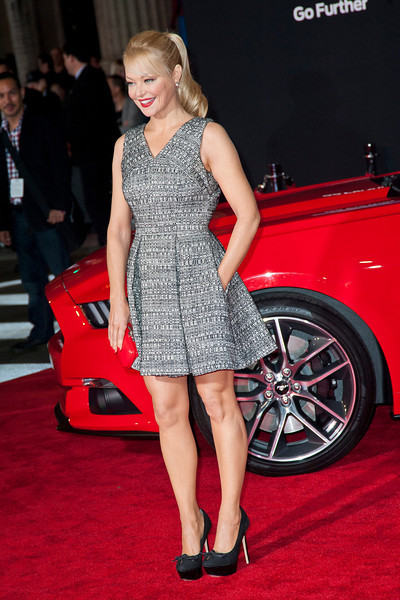 HOLLYWOOD, CA - MARCH 06: Actress Charlotte Ross arrives at the premiere of DreamWorks Pictures' 'Need For Speed' at TCL Chinese Theatre on March 6, 2014 in Hollywood, California. (Photo by Tom Sorensen/Moovieboy Pictures)