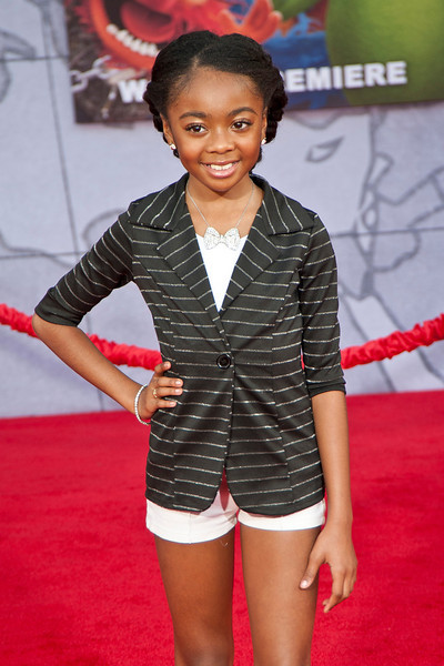 HOLLYWOOD, CA - MARCH 11: Actress Skai Jackson arrives for the premiere of Disney's 'Muppets Most Wanted' at the El Capitan Theatre on Tuesday March 11, 2014 in Hollywood, California. (Photo by Tom Sorensen/Moovieboy Pictures)