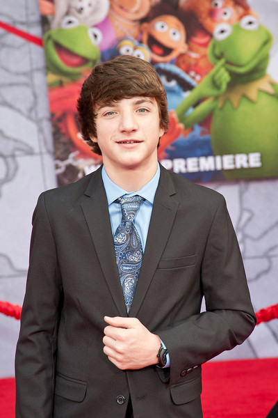 HOLLYWOOD, CA - MARCH 11: ctor Jake Short arrives for the premiere of Disney's 'Muppets Most Wanted' at the El Capitan Theatre on Tuesday March 11, 2014 in Hollywood, California. (Photo by Tom Sorensen/Moovieboy Pictures)