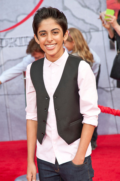 HOLLYWOOD, CA - MARCH 11: Actor Karan Brar arrives for the premiere of Disney's 'Muppets Most Wanted' at the El Capitan Theatre on Tuesday March 11, 2014 in Hollywood, California. (Photo by Tom Sorensen/Moovieboy Pictures)