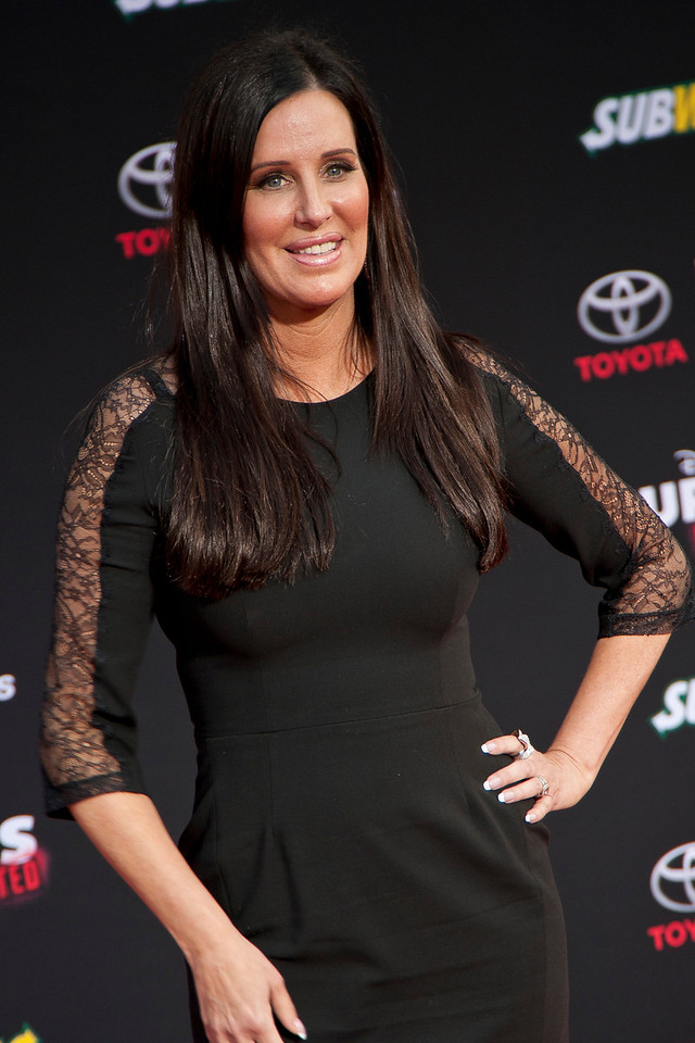 HOLLYWOOD, CA - MARCH 11: TV personality Patti Stanger arrives for the premiere of Disney's 'Muppets Most Wanted' at the El Capitan Theatre on Tuesday March 11, 2014 in Hollywood, California. (Photo by Tom Sorensen/Moovieboy Pictures)