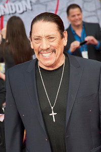 HOLLYWOOD, CA - MARCH 11: Actor Danny Trejo arrives for the premiere of Disney's 'Muppets Most Wanted' at the El Capitan Theatre on Tuesday March 11, 2014 in Hollywood, California. (Photo by Tom Sorensen/Moovieboy Pictures)