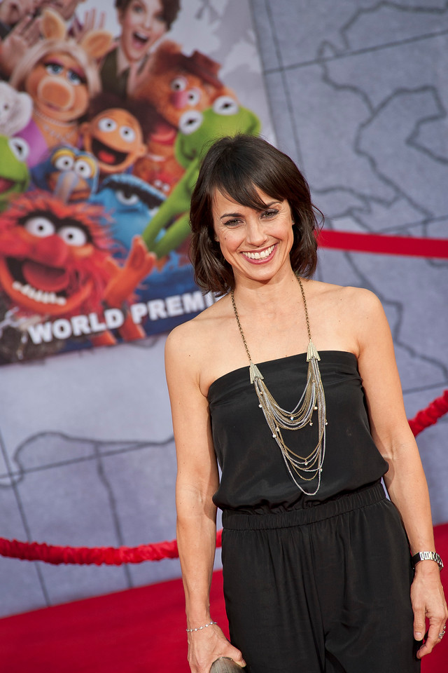 HOLLYWOOD, CA - MARCH 11: Actress Constance Zimmer arrives for the premiere of Disney's 'Muppets Most Wanted' at the El Capitan Theatre on Tuesday March 11, 2014 in Hollywood, California. (Photo by Tom Sorensen/Moovieboy Pictures)