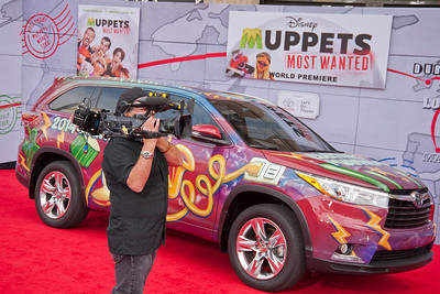 HOLLYWOOD, CA - MARCH 11: Atmosphere at the premiere of Disney's 'Muppets Most Wanted' at the El Capitan Theatre on Tuesday March 11, 2014 in Hollywood, California. (Photo by Tom Sorensen/Moovieboy Pictures)