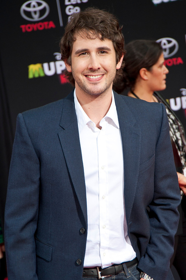 HOLLYWOOD, CA - MARCH 11: Singer Josh Groban arrives for the premiere of Disney's 'Muppets Most Wanted' at the El Capitan Theatre on Tuesday March 11, 2014 in Hollywood, California. (Photo by Tom Sorensen/Moovieboy Pictures)