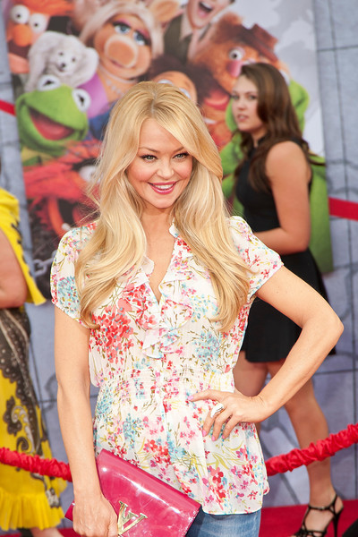 HOLLYWOOD, CA - MARCH 11: Actress Charlotte Ross arrives for the premiere of Disney's 'Muppets Most Wanted' at the El Capitan Theatre on Tuesday March 11, 2014 in Hollywood, California. (Photo by Tom Sorensen/Moovieboy Pictures)
