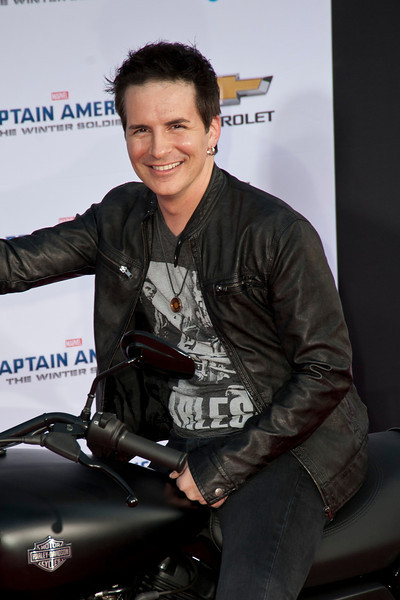 HOLLYWOOD, CA - MARCH 13: Actor Hal Sparks arrives at Marvel's 'Captain America: The Winter Soldier' premiere at the El Capitan Theatre onThursday,  March 13, 2014 in Hollywood, California. (Photo by Tom Sorensen/Moovieboy Pictures)
