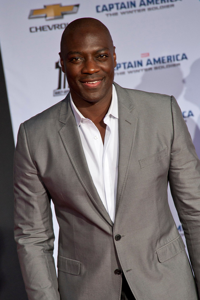 HOLLYWOOD, CA - MARCH 13: Actor Adewale Akinnuoye-Agbaje arrives at Marvel's 'Captain America: The Winter Soldier' premiere at the El Capitan Theatre onThursday,  March 13, 2014 in Hollywood, California. (Photo by Tom Sorensen/Moovieboy Pictures)