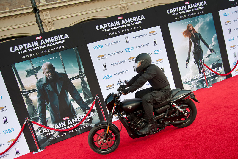 HOLLYWOOD, CA - MARCH 13: Atmosphere at Marvel's 'Captain America: The Winter Soldier' premiere at the El Capitan Theatre onThursday,  March 13, 2014 in Hollywood, California. (Photo by Tom Sorensen/Moovieboy Pictures)