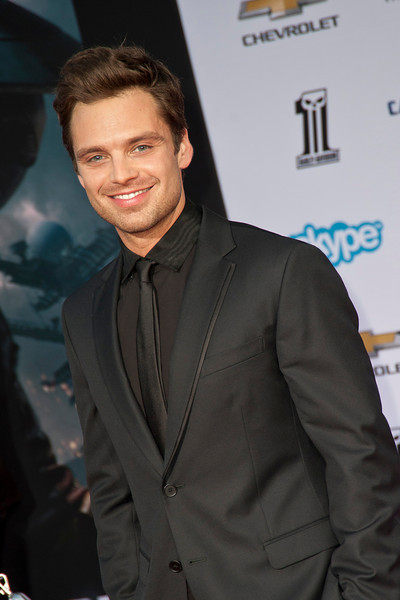 HOLLYWOOD, CA - MARCH 13: Actor Sebastian Stan arrives at Marvel's 'Captain America: The Winter Soldier' premiere at the El Capitan Theatre onThursday,  March 13, 2014 in Hollywood, California. (Photo by Tom Sorensen/Moovieboy Pictures)