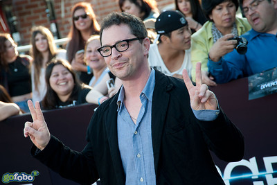 LOS ANGELES, CA - MARCH 18: Actor Joshua Malina arrives at the premiere of Summit Entertainment's 'Divergent' at the Regency Bruin Theatre on Tuesday, March 18, 2014 in Los Angeles, California. (Photo by Tom Sorensen/Moovieboy Pictures)