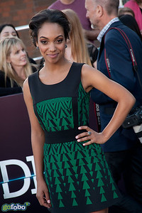 LOS ANGELES, CA - MARCH 18: Actress Lyndie Greenwood arrives at the premiere of Summit Entertainment's 'Divergent' at the Regency Bruin Theatre on Tuesday, March 18, 2014 in Los Angeles, California. (Photo by Tom Sorensen/Moovieboy Pictures)