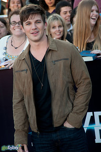 LOS ANGELES, CA - MARCH 18: Actor Matt Lanter arrives at the premiere of Summit Entertainment's 'Divergent' at the Regency Bruin Theatre on Tuesday, March 18, 2014 in Los Angeles, California. (Photo by Tom Sorensen/Moovieboy Pictures)
