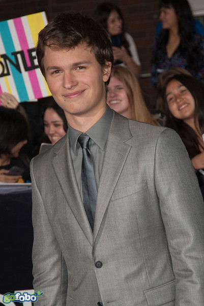 LOS ANGELES, CA - MARCH 18: Actor Ansel Elgort arrives at the premiere of Summit Entertainment's 'Divergent' at the Regency Bruin Theatre on Tuesday, March 18, 2014 in Los Angeles, California. (Photo by Tom Sorensen/Moovieboy Pictures)