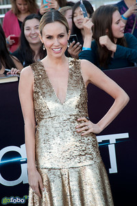 LOS ANGELES, CA - MARCH 18: TV personality Keltie Knight arrives at the premiere of Summit Entertainment's 'Divergent' at the Regency Bruin Theatre on Tuesday, March 18, 2014 in Los Angeles, California. (Photo by Tom Sorensen/Moovieboy Pictures)