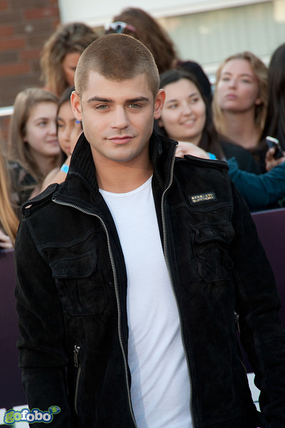 LOS ANGELES, CA - MARCH 18: Actor Garrett Clayton arrives at the premiere of Summit Entertainment's 'Divergent' at the Regency Bruin Theatre on Tuesday, March 18, 2014 in Los Angeles, California. (Photo by Tom Sorensen/Moovieboy Pictures)
