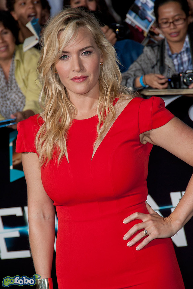LOS ANGELES, CA - MARCH 18: Actress Kate Winslet arrives at the premiere of Summit Entertainment's 'Divergent' at the Regency Bruin Theatre on Tuesday, March 18, 2014 in Los Angeles, California. (Photo by Tom Sorensen/Moovieboy Pictures)