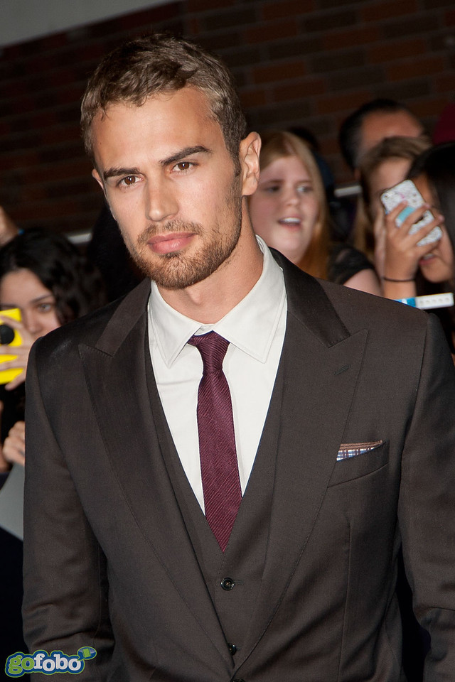 LOS ANGELES, CA - MARCH 18: Actor Theo James arrives at the premiere of Summit Entertainment's 'Divergent' at the Regency Bruin Theatre on Tuesday, March 18, 2014 in Los Angeles, California. (Photo by Tom Sorensen/Moovieboy Pictures)
