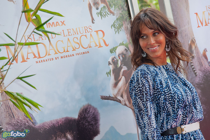 LOS ANGELES, CA - MARCH 29: Actress Nicole Ari Parker Kodjoe arrives at the premiere of 'Island Of Lemurs: Madagascar' at California Science Center on Saturday, March 29, 2014 in Los Angeles, California. (Photo by Tom Sorensen/Moovieboy Pictures)
