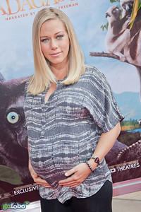 LOS ANGELES, CA - MARCH 29: Reality TV Personality Kendra Wilkinson arrives at the premiere of 'Island Of Lemurs: Madagascar' at California Science Center on Saturday, March 29, 2014 in Los Angeles, California. (Photo by Tom Sorensen/Moovieboy Pictures)