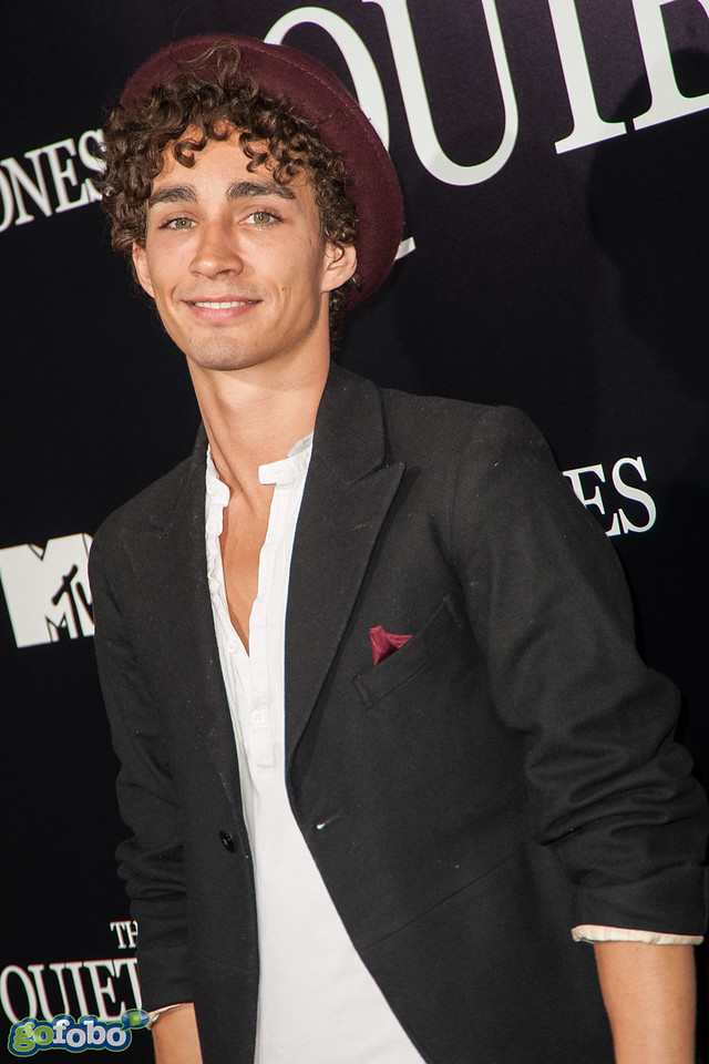 LOS ANGELES, CA - APRIL 22: Actor Robert Sheehan arrives at the premiere of Lionsgate Films' 'The Quiet Ones' at The Theatre At Ace Hotel on Tuesday April 22, 2014 in Los Angeles, California. (Photo by Tom Sorensen/Moovieboy Pictures)