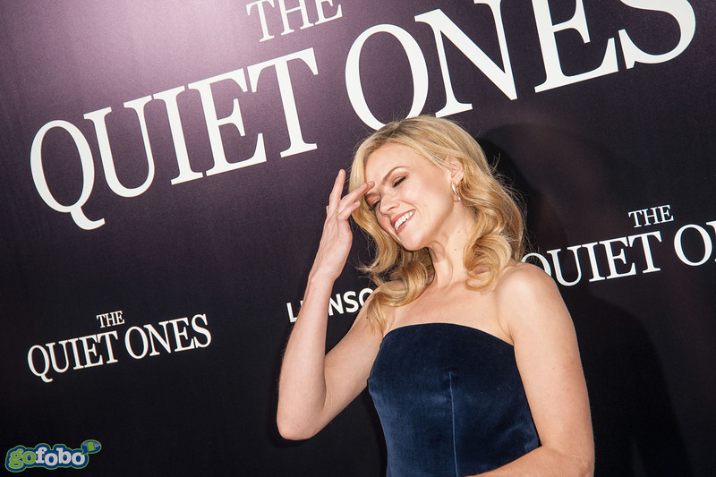 LOS ANGELES, CA - APRIL 22: Actress Erin Richards arrives at the premiere of Lionsgate Films' 'The Quiet Ones' at The Theatre At Ace Hotel on Tuesday April 22, 2014 in Los Angeles, California. (Photo by Tom Sorensen/Moovieboy Pictures)