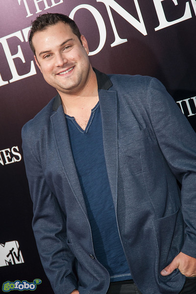 LOS ANGELES, CA - APRIL 22: Actor Max Adler arrives at the premiere of Lionsgate Films' 'The Quiet Ones' at The Theatre At Ace Hotel on Tuesday April 22, 2014 in Los Angeles, California. (Photo by Tom Sorensen/Moovieboy Pictures)