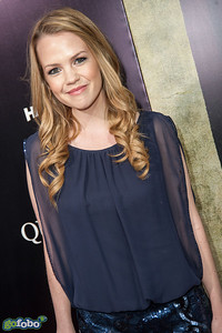 LOS ANGELES, CA - APRIL 22: Actress Abbie Cobb arrives at the premiere of Lionsgate Films' 'The Quiet Ones' at The Theatre At Ace Hotel on Tuesday April 22, 2014 in Los Angeles, California. (Photo by Tom Sorensen/Moovieboy Pictures)