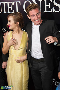 LOS ANGELES, CA - APRIL 22: Actors Olivia Cooke and Rory Fleck-Byrne arrive at the premiere of Lionsgate Films' 'The Quiet Ones' at The Theatre At Ace Hotel on Tuesday April 22, 2014 in Los Angeles, California. (Photo by Tom Sorensen/Moovieboy Pictures)